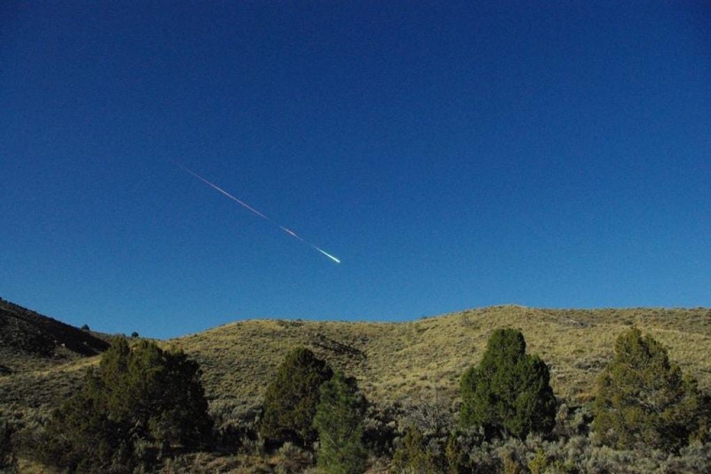 Una meteorite da 70 tonnellate nei cieli della California