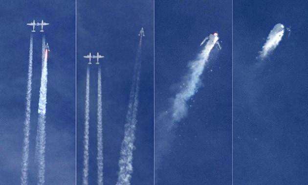 SpaceShipTwo, nuovi dettagli sull'incidente