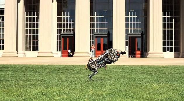 Il robot ghepardo del MIT