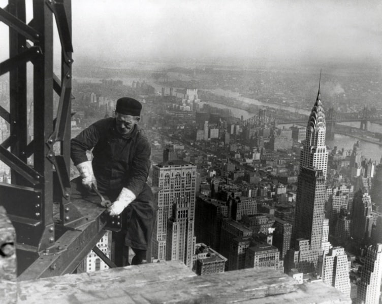 Empire State Bulding, le foto di un'impresa titanica ...
