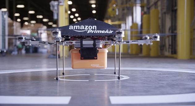 Il postino di Amazon è un drone!