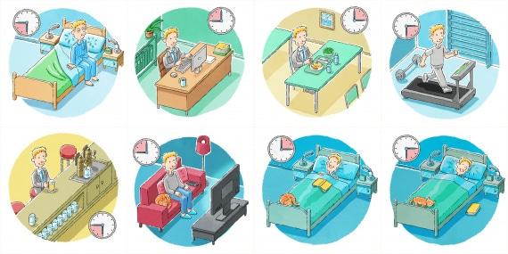 orologio biologico e ritmo circadiano
