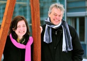 May-Britt ed Evard Moser