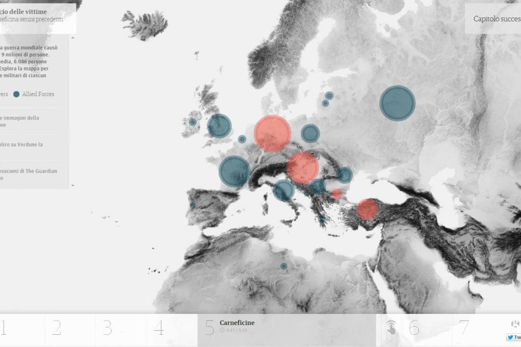 Prima Guerra Mondiale: un documentario interattivo del Guardian