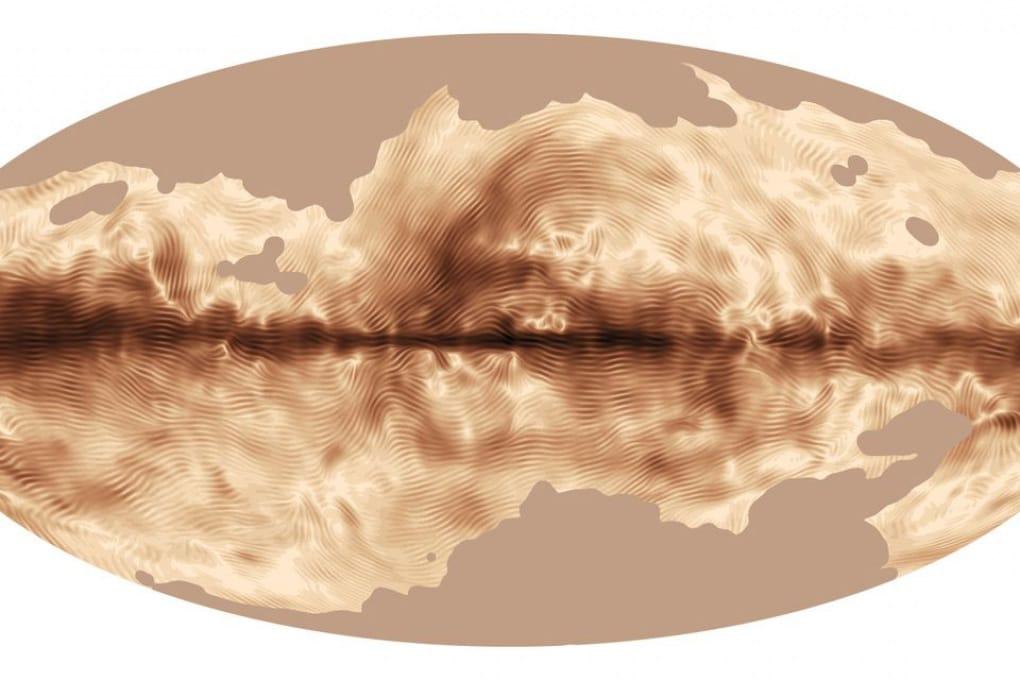 Planck rileva le impronte magnetiche della Via Lattea