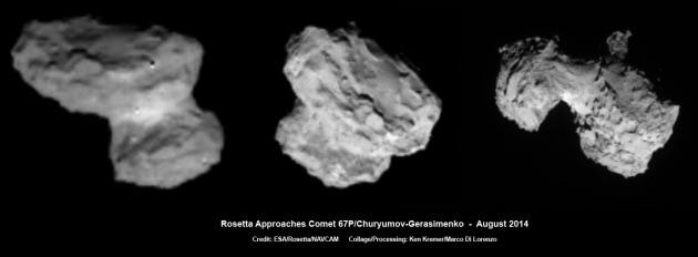 Rosetta a 300 km dalla cometa