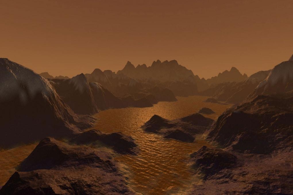 Onde sui mari di Titano?