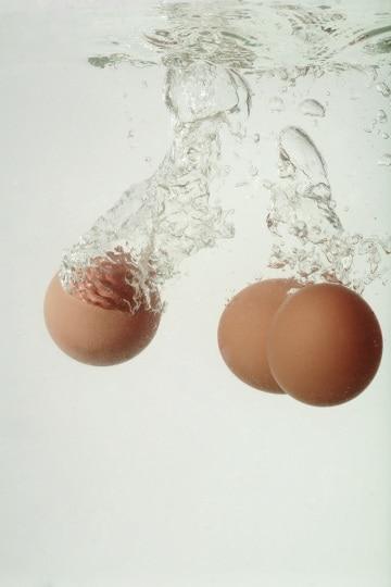 Si può fare una frittata sott'acqua?