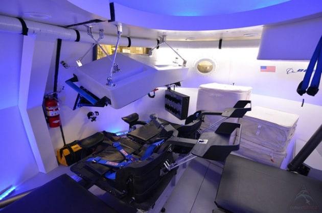 Nello spazio in business class con la capsula Boeing