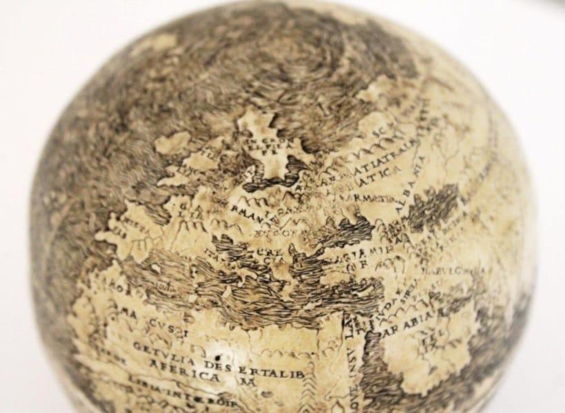 Le Foto Del Più Antico Mappamondo Del Mondo Focusit