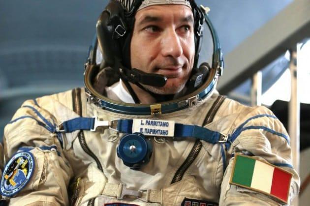 La prima intervista a Luca Parmitano