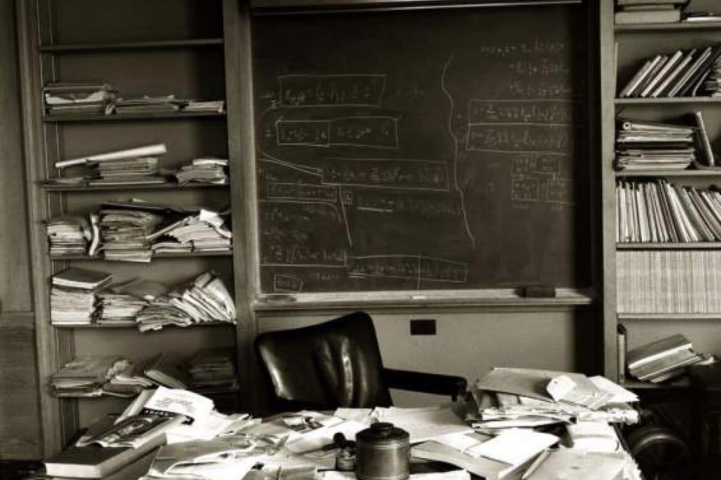 Le strane foto del giorno della morte di Einstein