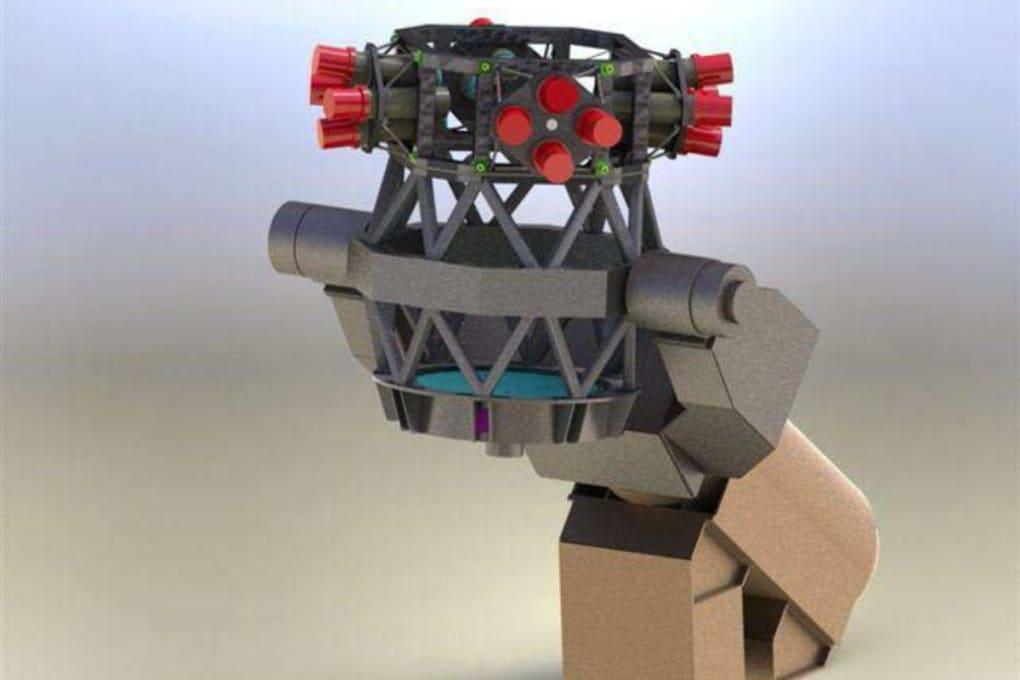 """Il telescopio a """"occhio di mosca"""" per la caccia ai detriti spaziali (e agli asteroidi pericolosi)"""