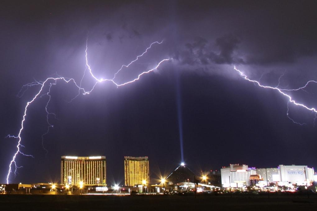 La mappa dei fulmini in tempo reale