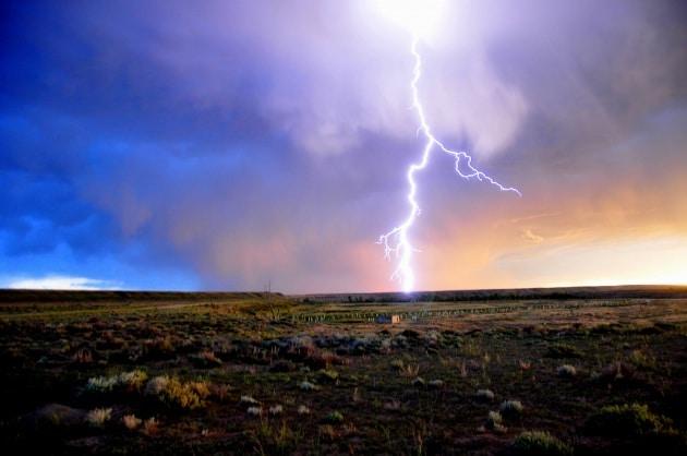 I cambiamenti climatici aumentano il numero di fulmini