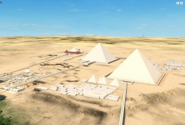 Nella Piana di Giza, 5000 anni fa: dal tuo pc, con la realtà virtuale