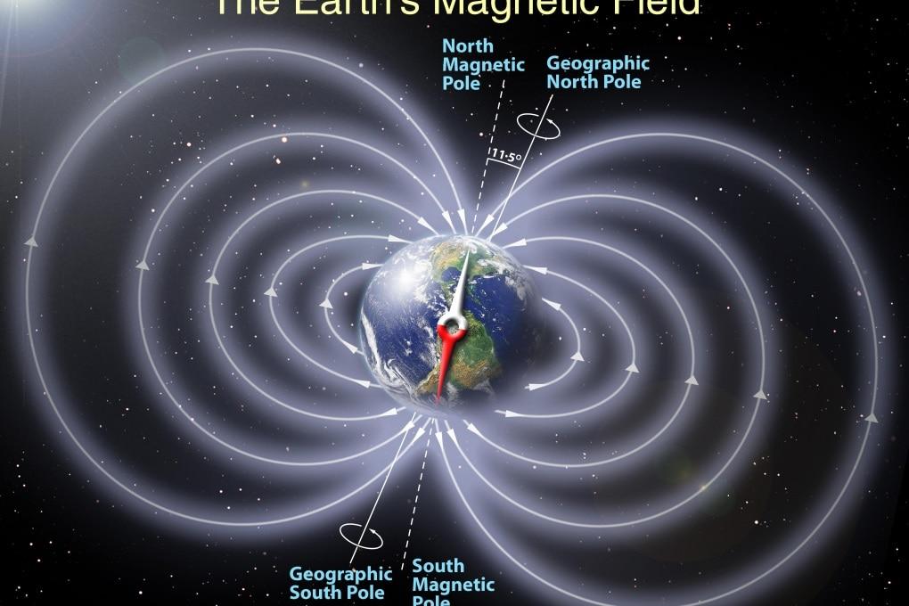 Il campo magnetico terrestre potrebbe invertirsi di colpo