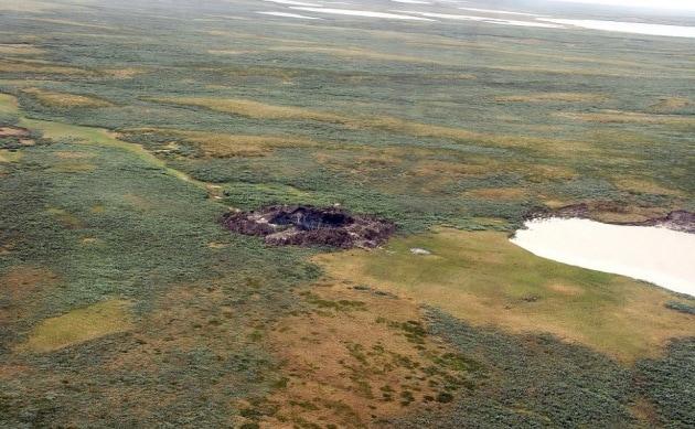 La voragine siberiana dello Yamal