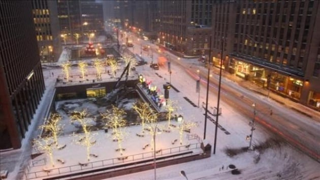 New York e la neve: un video in time-lapse