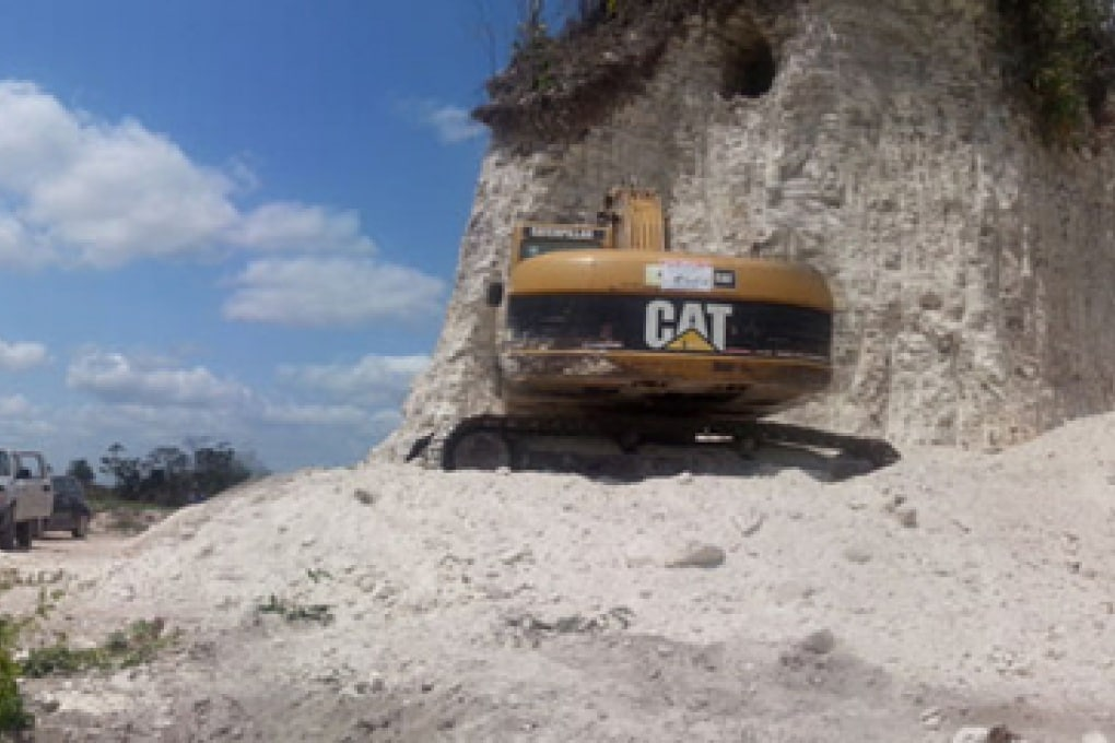 Belize, piramide Maya demolita per errore