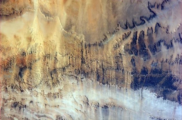 L'erosione dei venti studiata dalla ISS