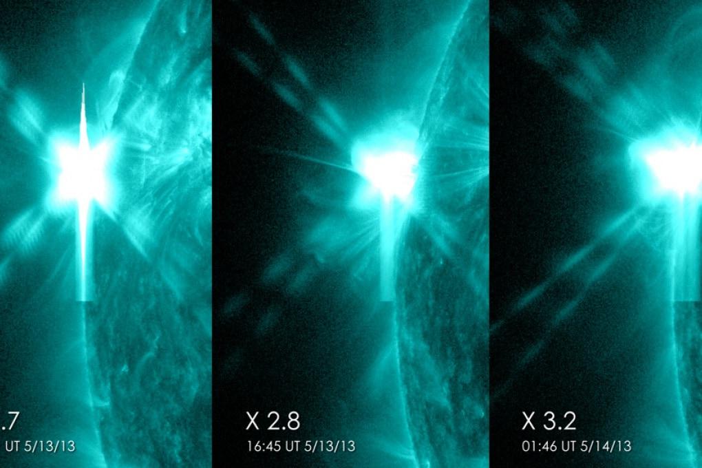 Sole, tre eruzioni record nell'arco di 24 ore