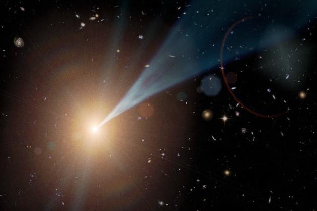 Il motore più potente dell'universo è un buco nero