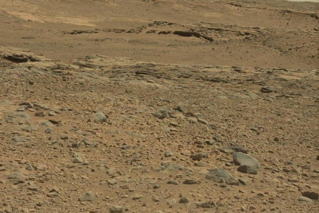 Nuvole su Marte fotografate da Curiosity