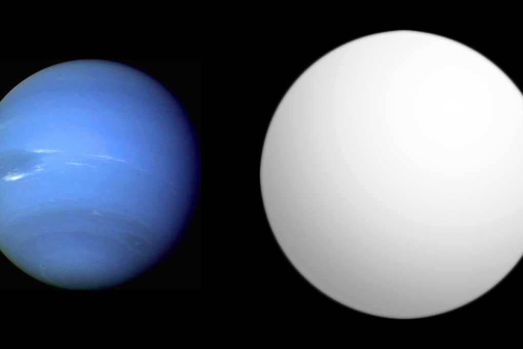 Acqua nell'atmosfera di un esopianeta nettuniano
