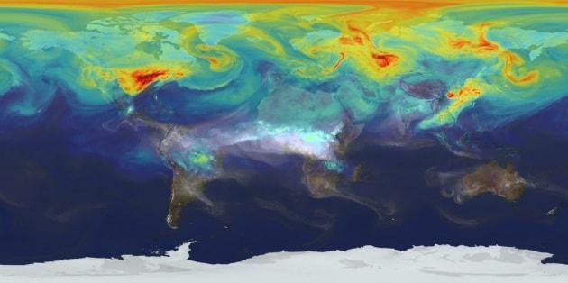 Così l'anidride carbonica si muove sulla Terra