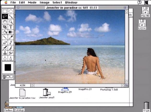 Qual è stata la prima foto ritoccata in Photoshop?
