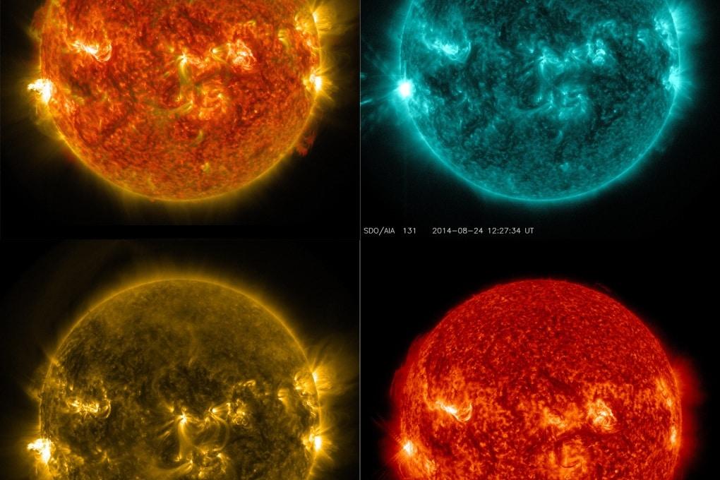 Il video di un brillamento solare di fine estate