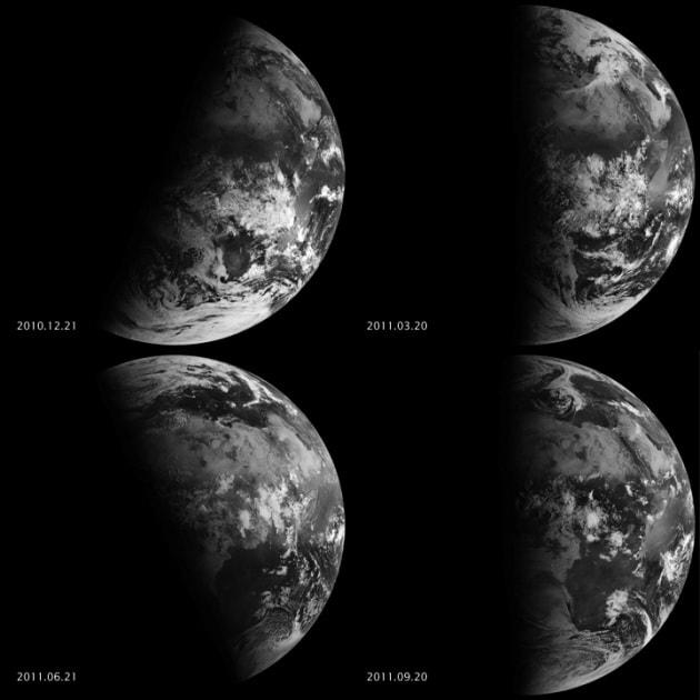 Le stagioni extraterrestri nel Sistema Solare