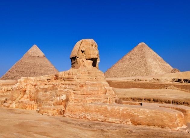 Gli antichi Egizi e il trucco per costruire le piramidi