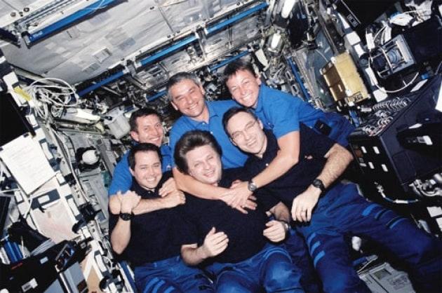 Uomini e donne nello spazio, il fisico si comporta in modo diverso