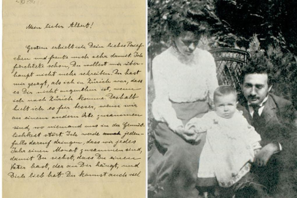 Da padre a figlio: la lettera di Einstein al piccolo Hans Albert