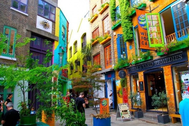 Gli edifici più colorati del mondo