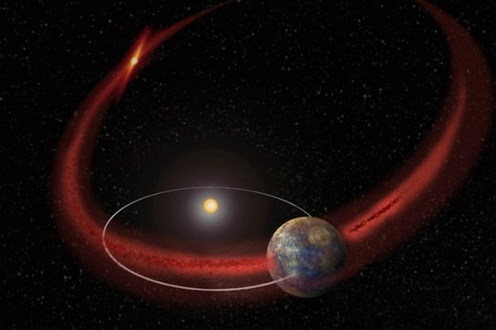 Sciami meteorici su Mercurio