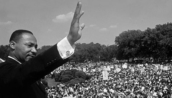 Martin Luther King, marcia per la libertà e per il lavoro, I have a dream, segregazione razziale