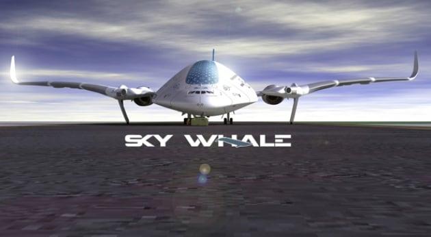 Sky Whale: la balena dei cieli