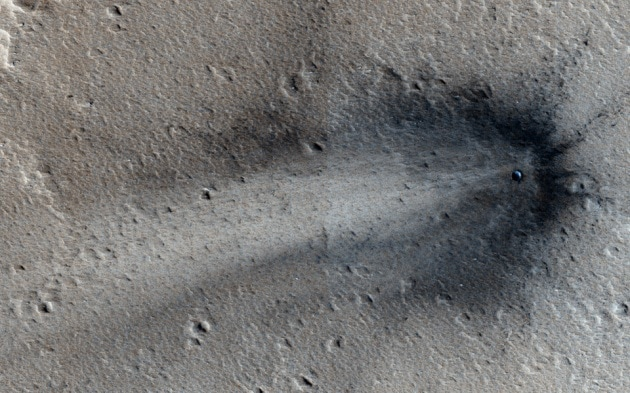 Meteoriti: un nuovo cratere su Marte