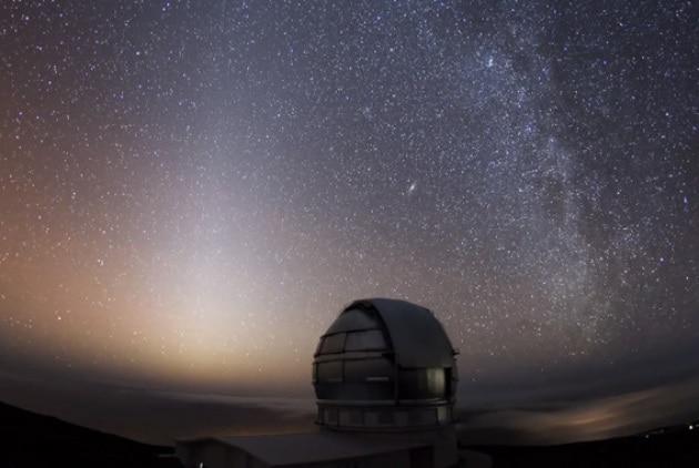 Il cielo delle Canarie in time-lapse