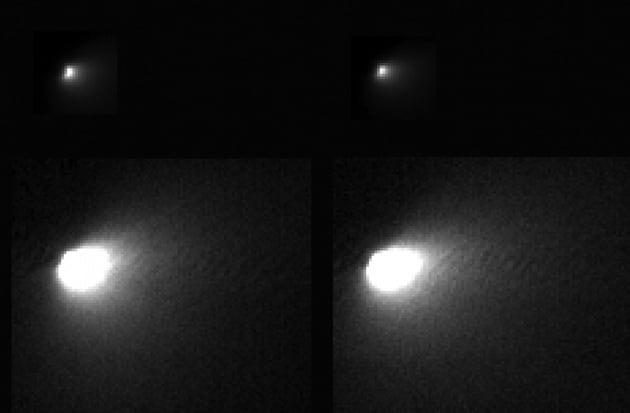 Prime immagini della cometa che ha sfiorato Marte