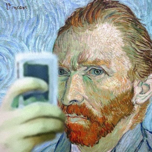 Selfie-art: quando le opere d'arte si fanno l'autoscatto
