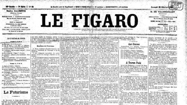 Il futurismo italiano alla conquista di New York