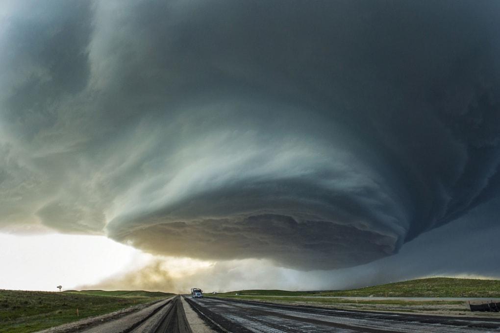 Una mostruosa nuvola astronave