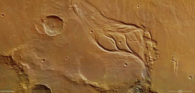 Sublime bellezza su Marte: le nuove foto di Mars Express