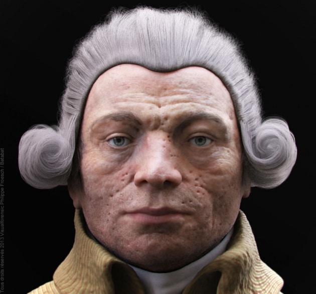 Ecco il volto del Terrore: ricostruito in 3D il volto di Robespierre