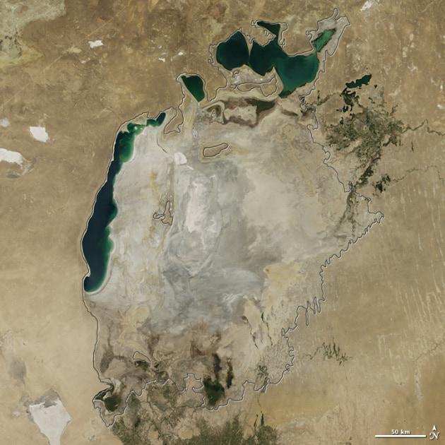 Addio al lago d'Aral, si è prosciugato quasi del tutto