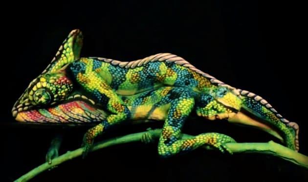 Il camaleonte umano